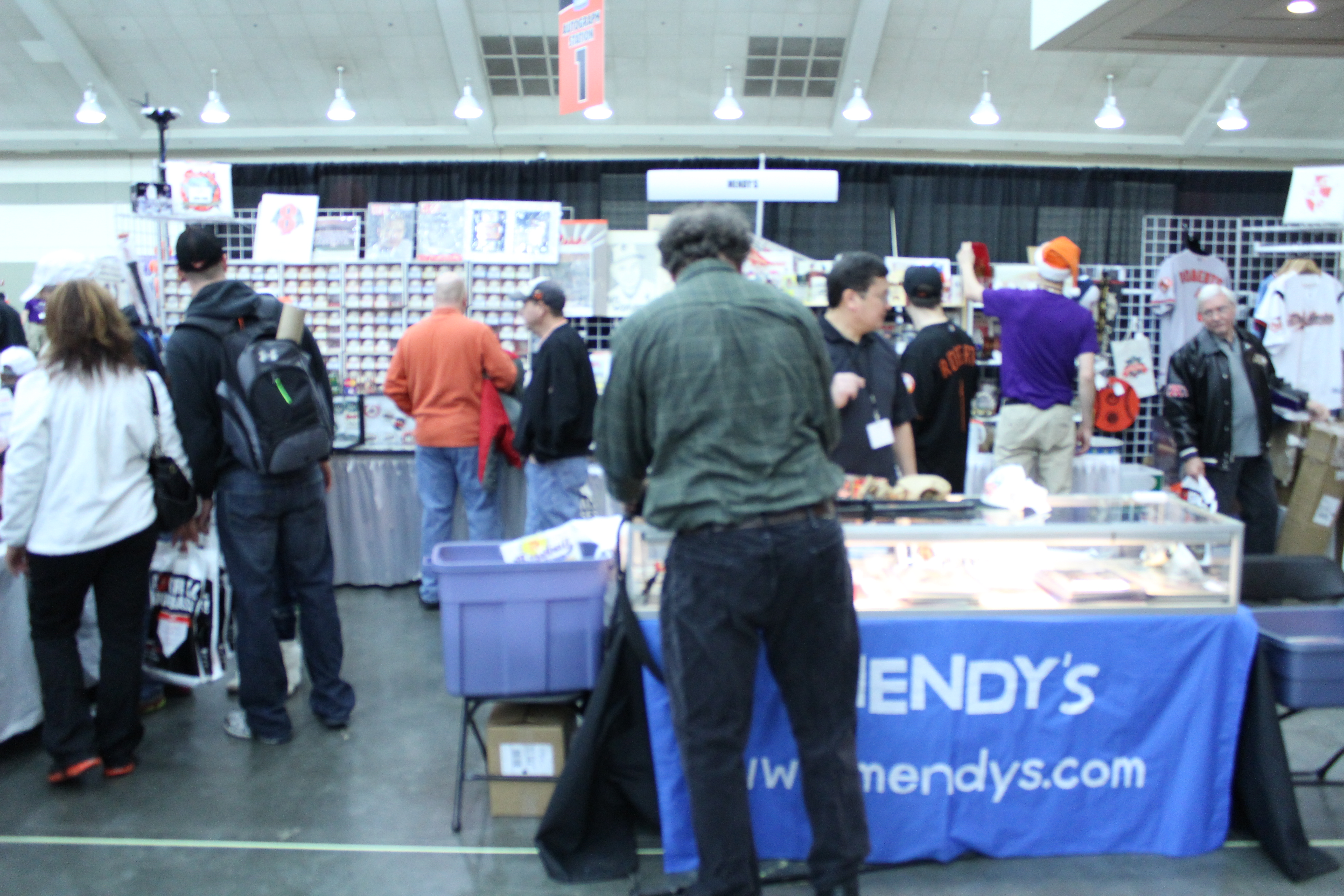 Mendys booth again