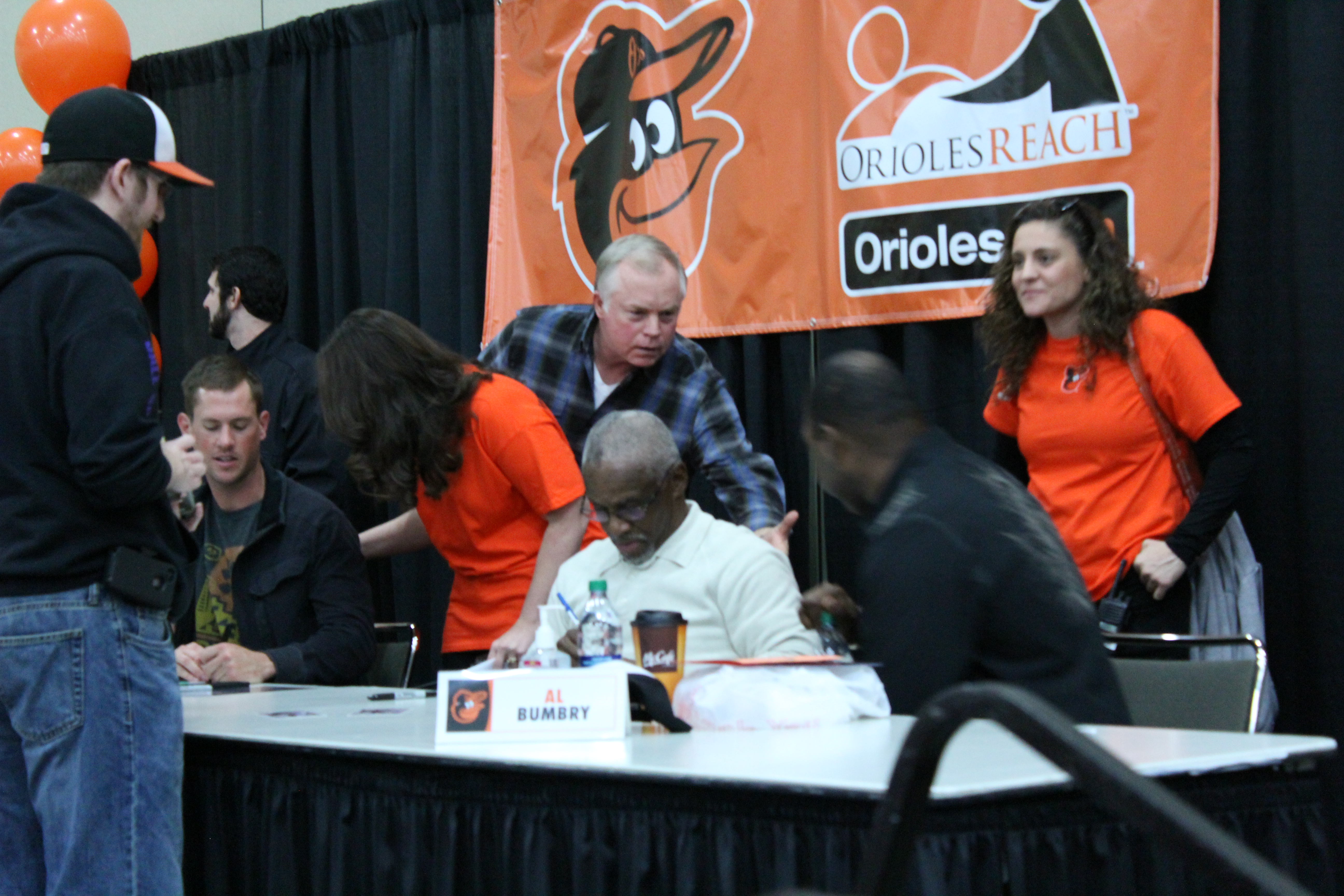 Buck Showalter and Al Bumbry